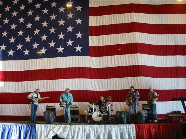The John Arnold Band at a benefit for the 185th Tactical Airlift Squadron, 2005